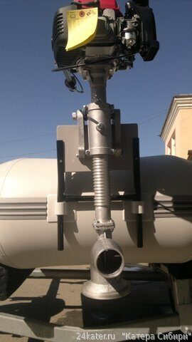 Водометный лодочный мотор кальмар или медуза