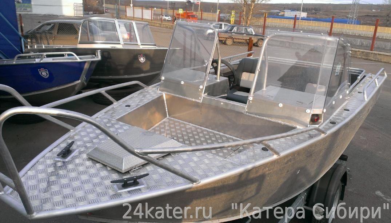 купить лодку сборную из алюминия