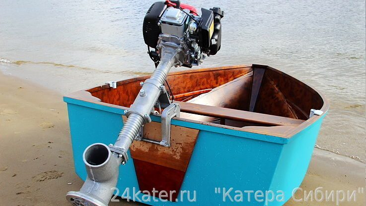 водометный двигатель лодочный