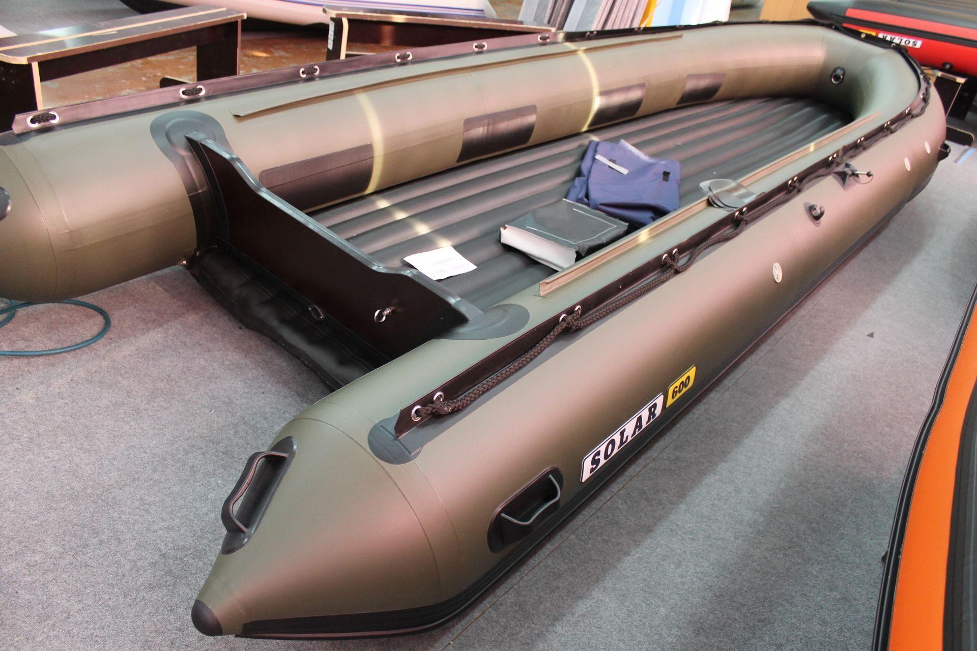 цены на лодки солар с тоннелем