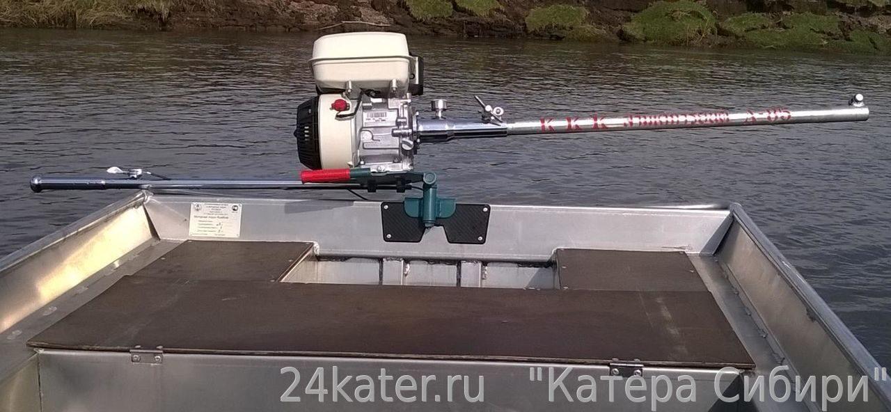 моторная лодка длинная нога
