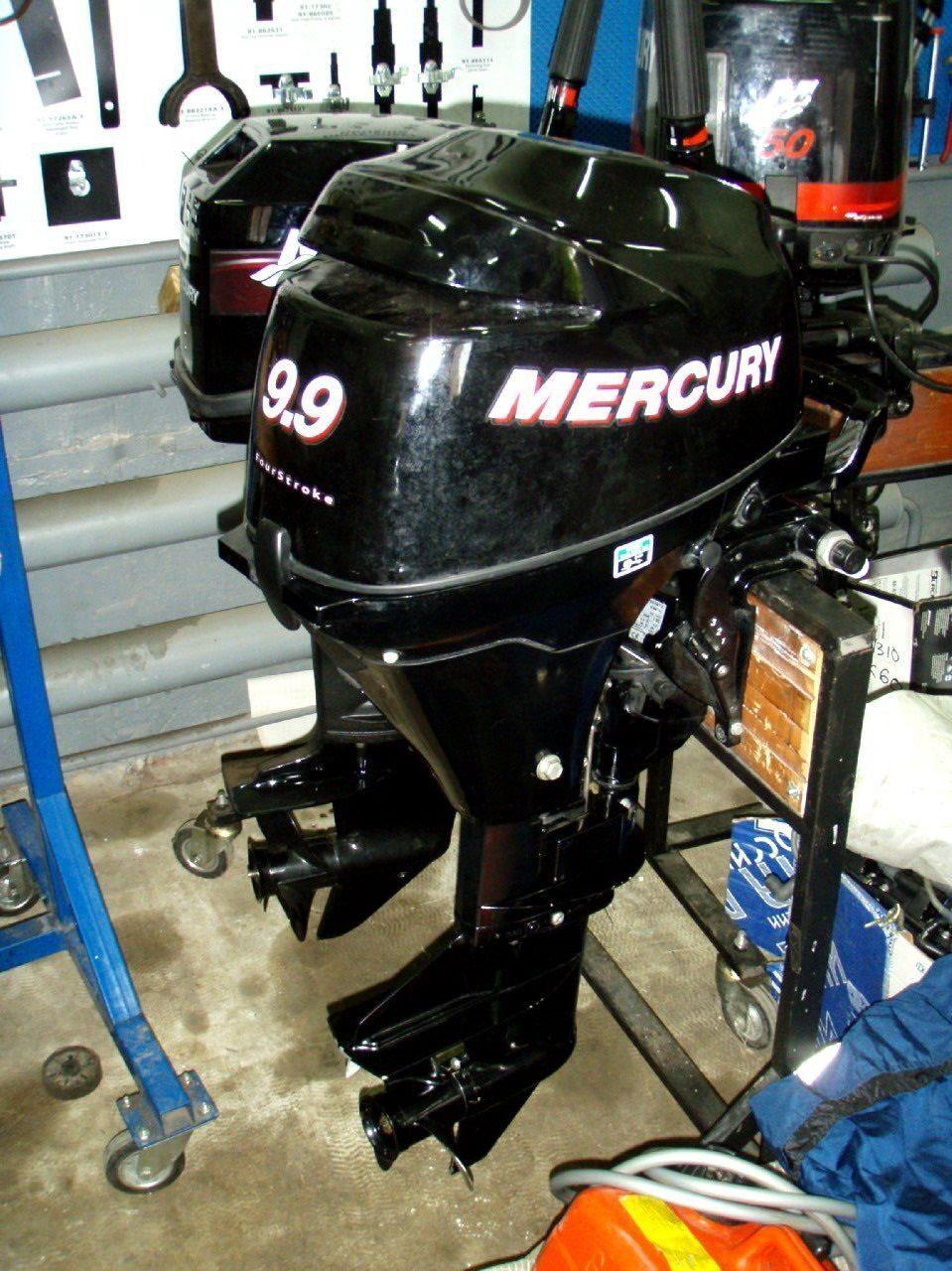 лодочный мотор меркури 5 л с 2-х тактный средняя цена бу