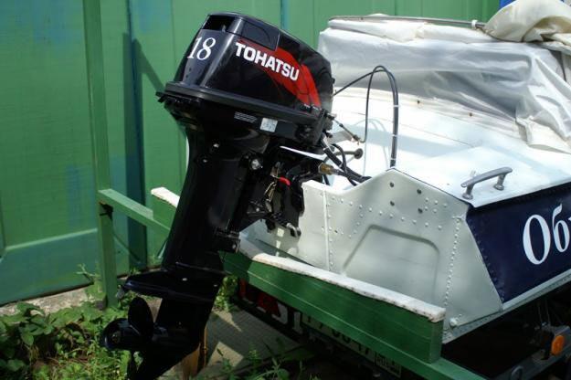 подключение лодочного мотора tohatsu