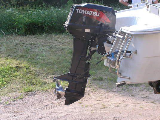 лодочный мотор тохатсу 40 епс