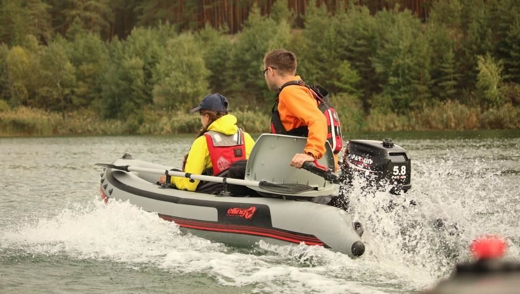 лодка elling кардинал-430sl