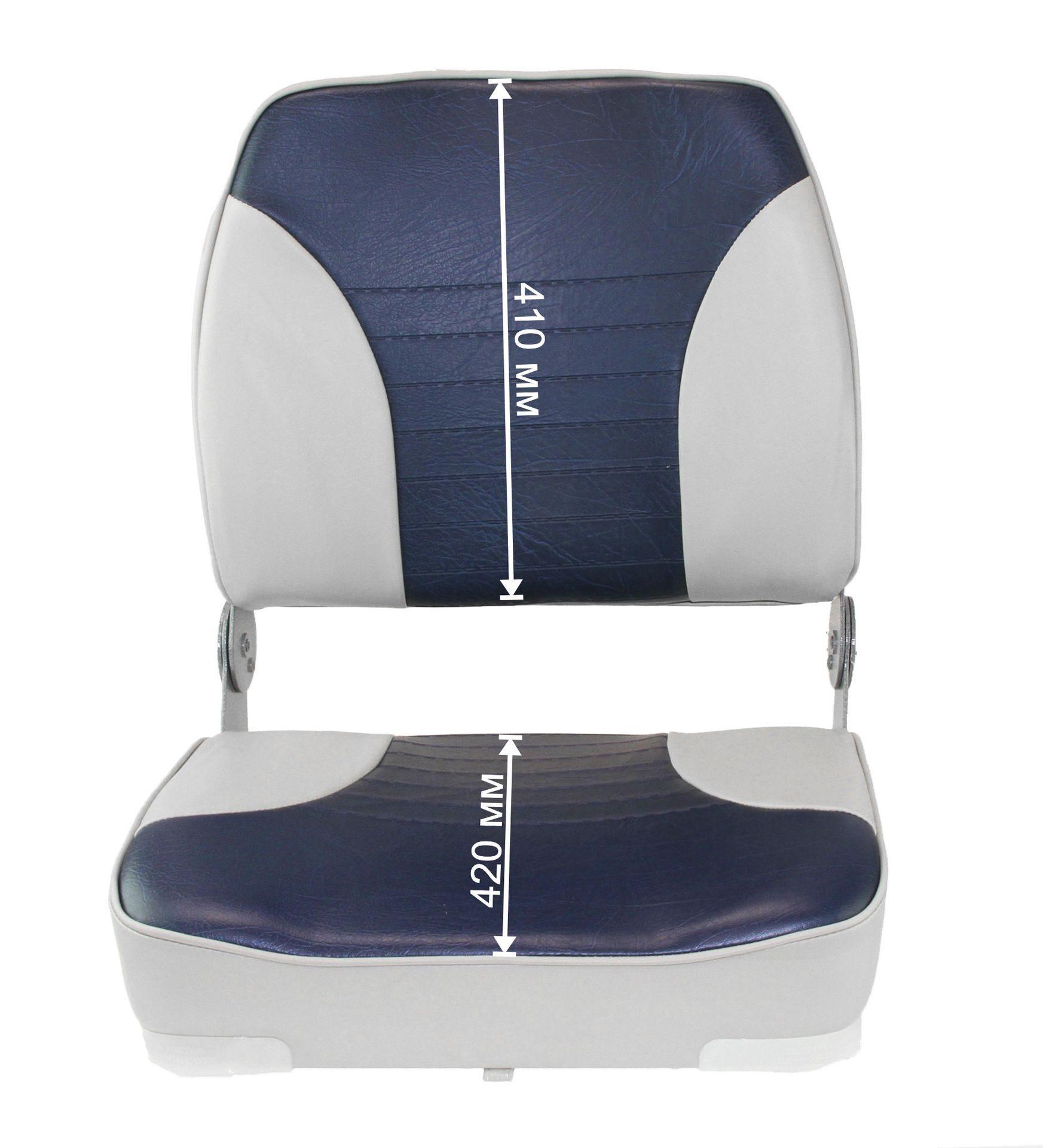 мягкое сиденье для лодки серые