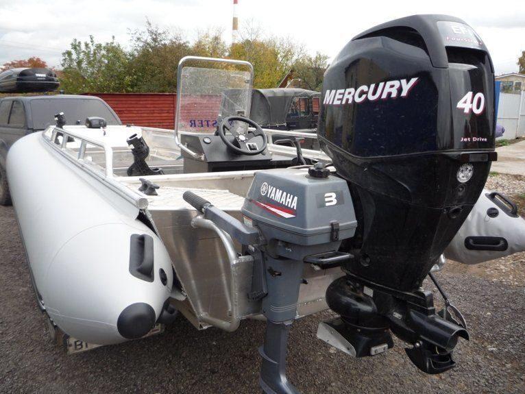 видео лодки пвх с мотором меркури 15м