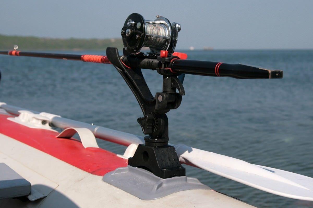 подставка в лодку пвх под удочек