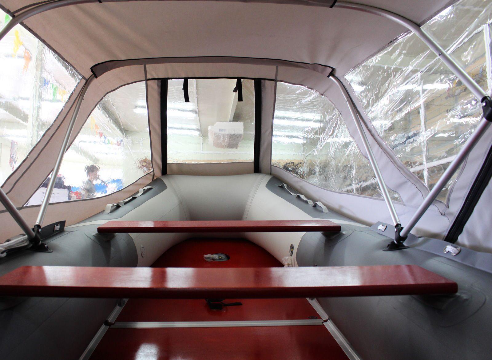 Как сделать дуги для тента на лодку пвх