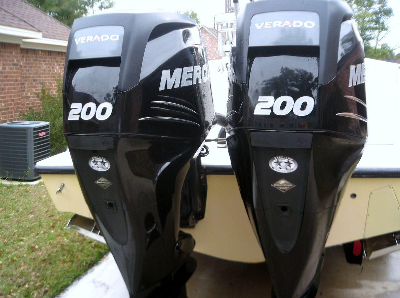 Лодочный меркурий 200